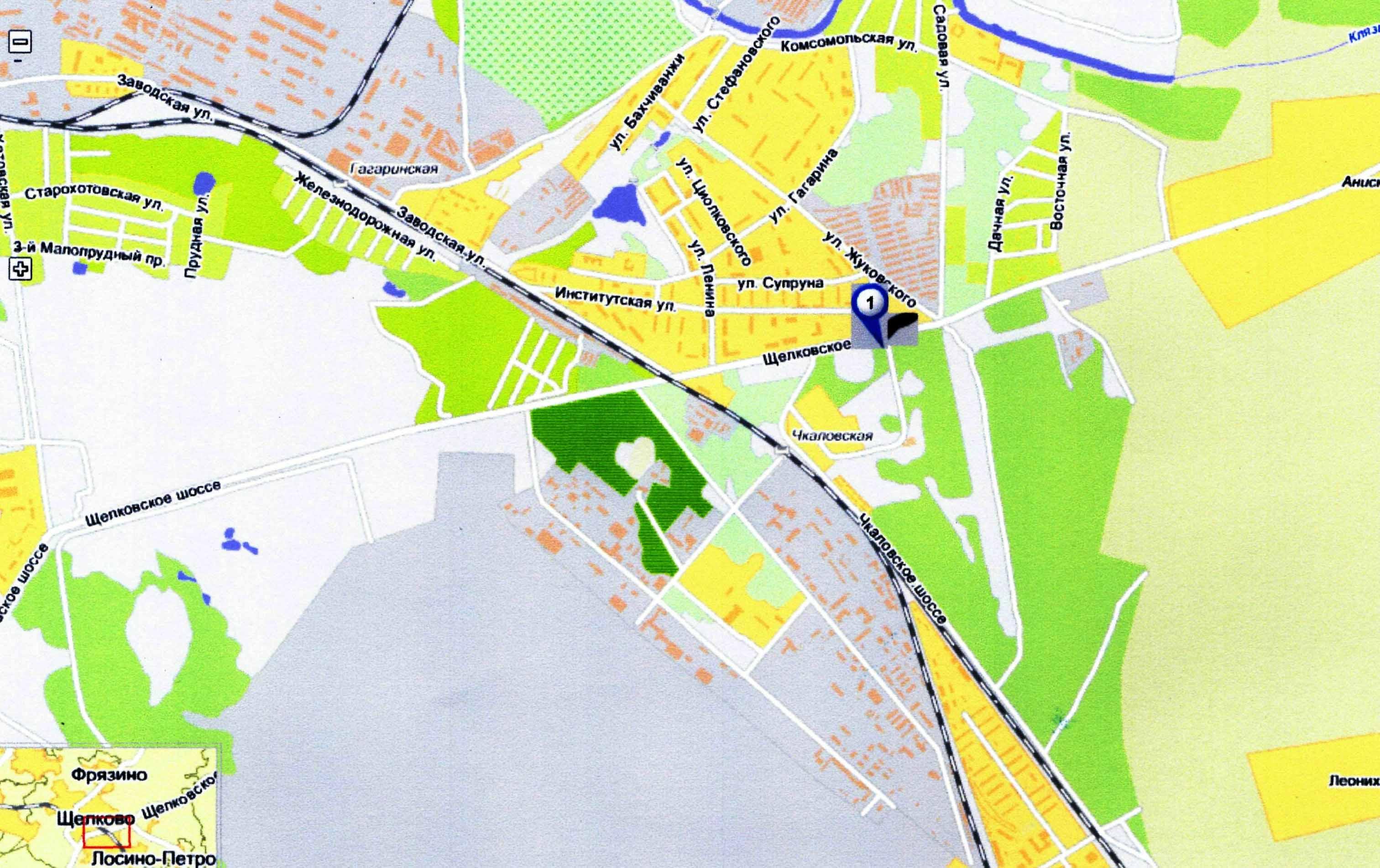 схема проекта щелковского шоссе